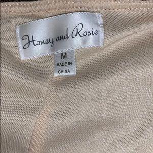 Honey and Rosie Dresses - Honey and Rosie One Shoulder Dress Size Medium